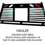 Ranch Hand Hauler – Lighted, fully louvered