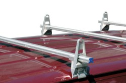 HEAVY DUTY 1 BAR ALUMINUM RACK