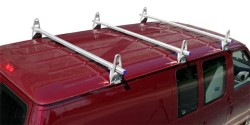 HEAVY DUTY 2 BAR ALUMINUM RACK