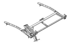 LOADSRITE Drop-Down Ladder Rack- SINGLE FSV CURBSIDE