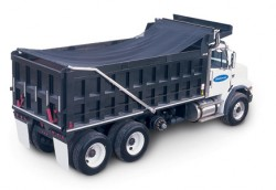 Bullet Heavy Duty Dump Truck Automatic Tarp Covering System