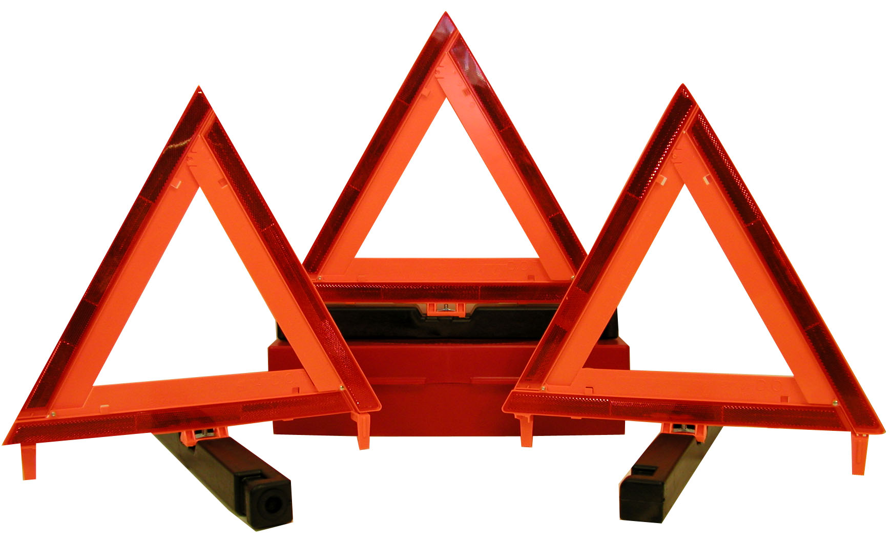 Tractor Reflective Triangles : Dealers truck warning triangle