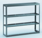 Open End Adjustable Shelving Unit
