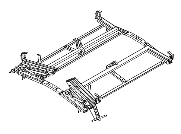 Dealers Truck Loadsrite Drop Down Ladder Rack Double