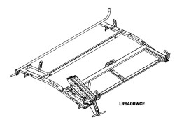 LOADSRITE Drop-Down Ladder Rack – COMBO UNIT FSV CURBSIDE